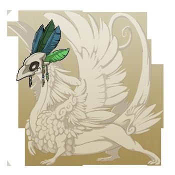 File:Green Birdskull Headdress Coatl F.png