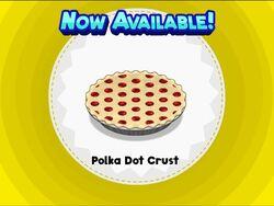 Unlocking polka dot crust