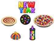 New Year Toppings - Bakeria