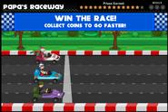 Papa's Raceway Radlynn and Sarge Fan