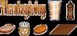 Thanksgiving toppings sushiria by amelia411-darwyob