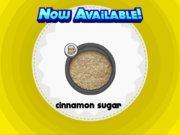 Papa's Donuteria - Cinnamon Sugar