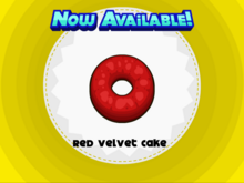 Papa's Donuteria - Red Velvet Cake