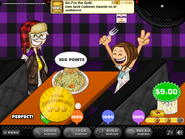 Perfect pasta and gold badge