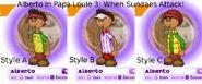 Alberto in Papa Louie 3: When Sundaes Attack!