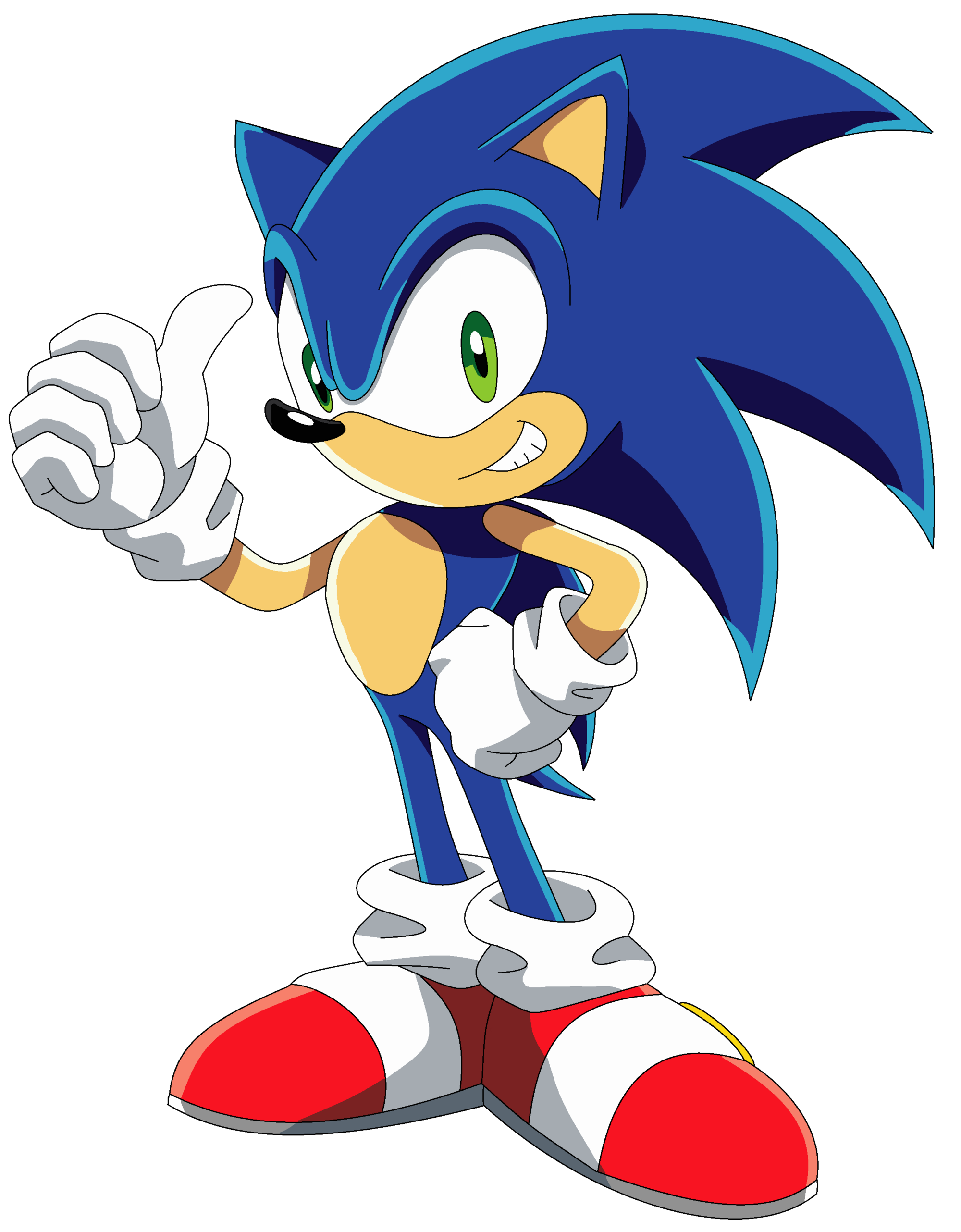 ULTIMATE FLASH SONIC >> Play the Flash Game & More