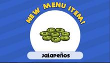 Jalapeno burgeria to go