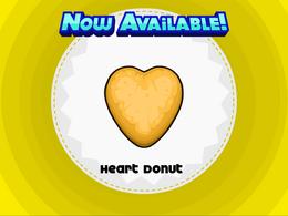 Papa's Donuteria - Heart Donut