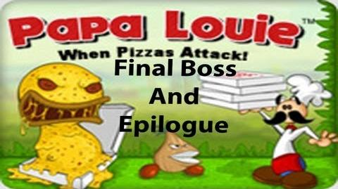 """Let's Play """"Papa Louie When Pizzas Attack"""" Final Boss and Epilogue"""