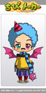 Xolo Chibi Style H Halloween