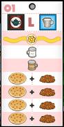 Papa Louie's Pancakeria Order