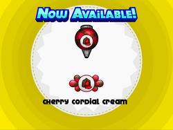 Papa's Donuteria - Cherry Cordial Cream