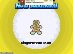 Papa's Cupcakeria - Gingerbread Man