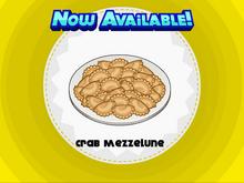 Papa's Pastaria - Crab Mezzelune