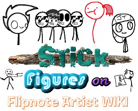 File:FLIPNOTE ARTIST WIKI - Stick Figures - TeenChat Kimi, JT, The Krusty Krab Pizza, I Can Walk on Water Fly, Mr. Zer0, GUS Fernando Friends Census Bureau Ninjas.png