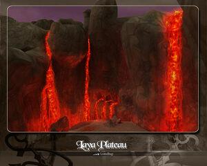 Loading Lava plateau