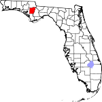 150px-Map of Florida highlighting Calhoun County svg