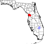 150px-Map of Florida highlighting Citrus County svg