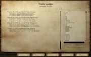 Trade ledger