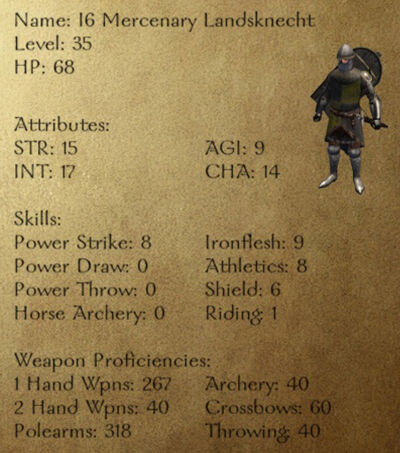 I6 Mercenary Landsknecht