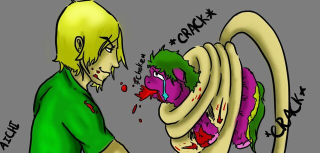 File:8004 - Artist ChaoticLaughter aichi made me do it blood fluffy abuse.jpg