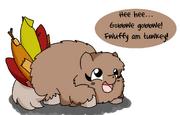 6875 - artist mutagen featured image hugbox original art safe thanksgiving turkey