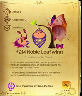 Noble Leafwing§Flutterpedia Upgraded