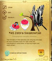 Zebra Swallowtail§Flutterpedia V1.90