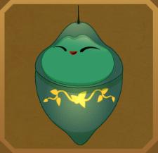 Green Charaxes§Chrysalis