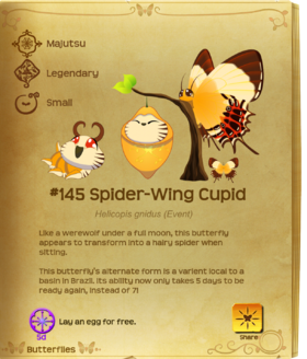 Spider-Wing Cupid§Flutterpedia Upgraded