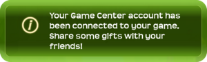 MessageGreen§GameCenterAccountConnected