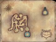 Mars Mine Dungeon Map