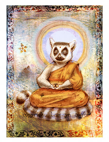 File:The Great Lemur Buddha by zuckerglider.jpg