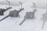 Drachman tanks on border