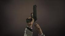 Raised Pistol