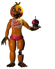 Nightmare Toy Chica