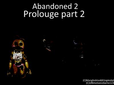 Abandoned prolougeP2 set