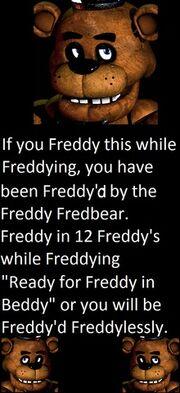Freddying with Freddy