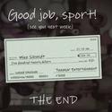 Mike Schmidt cheque