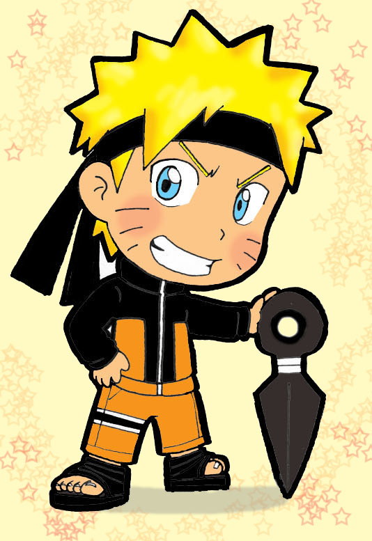 Image naruto fight of characters wiki fandom powered by wikia - Naruto chibi images ...