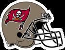 Tampa Bay Buccaneers helmet rightface
