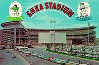 Shea postcard 1964