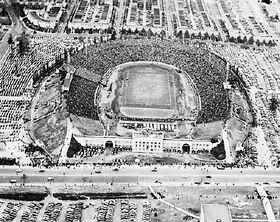 Baltimore Stadium, 33rd Street - Army Navy Game 1944 a