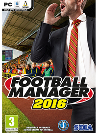 Football Manager 2016 cover