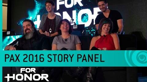 For Honor Story Panel Ft