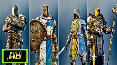 For Honor Knights Cutscenes The Wardens - The Conquerors - The Peacekeepers - The Lawbringers