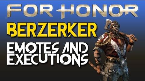 For Honor - Berserker - Emotes & Executions