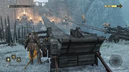 Valkenheim in Winter - bridge deployment