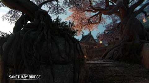 For Honor- Sanctuary Bridge - Samurai