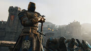 Knights warden overlooking battle - for honor